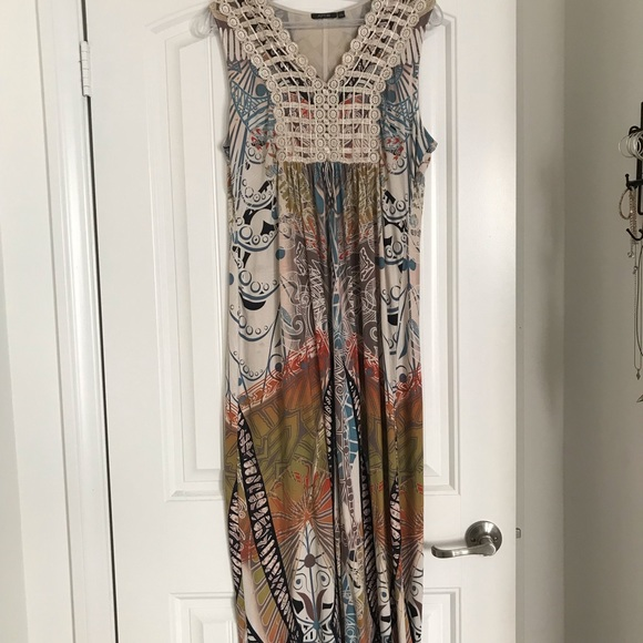 Apt. 9 Dresses & Skirts - Earth tone maxi dress